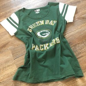 NFL team apparel Green Bay Packers tee